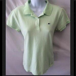 VINEYARD VINES Shirt Polo Preppy Striped Top